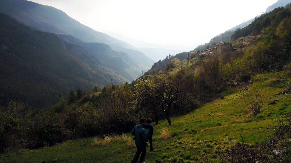 Esplorazioni a Terragnolo