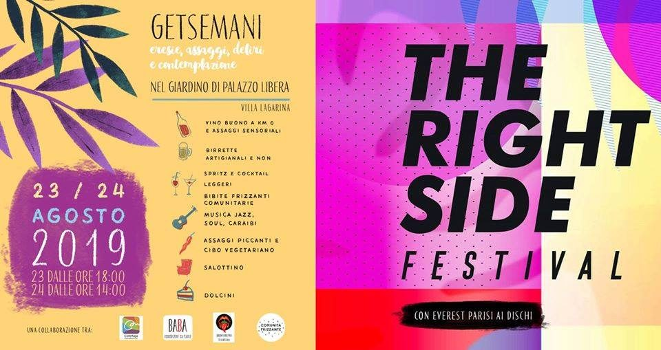 THE RIGHT SIDE FESTIVAL!